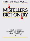 Webster s New World Misspeller s Dictionary