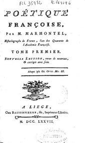 Poétique françoise: Volume2