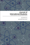 Journal of International Students, 2016 Vol. 6(1)