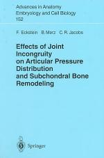 Effects of Joint Incongruity on Articular Pressure Distribution and Subchondral Bone Remodeling