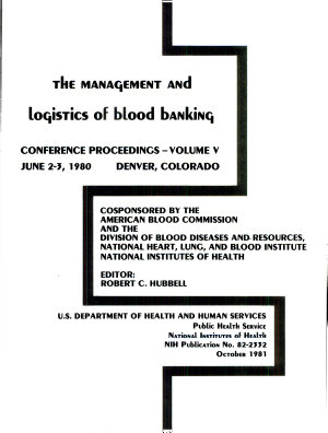 The Management and Logistics of Blood Banking