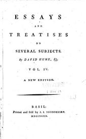 Essays and Treatises on Several Subjects: The natural history of religion