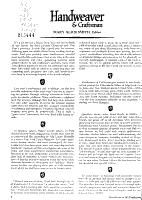 Handweaver and Craftsman PDF
