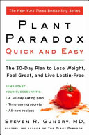 Plant Paradox Quick and Easy Book