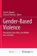 Gender Based Violence PDF