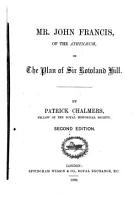 Mr  John Francis  of the Athenaeum  on the Plan of Sir Rowland Hill PDF