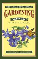 Old Farmer's Almanac Gardening Notebook