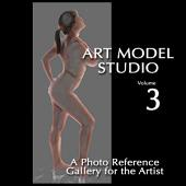 Art Model Studio, Vol 3: A Photo Reference Gallery for the Artist