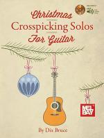 Christmas Crosspicking Solos for Guitar Book/CD Set