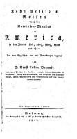 Reisen durch die Vereinten Staaten von America in den Jahren 1806 1811  Aus dem Englischen PDF