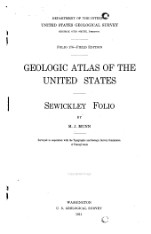 Geologic Atlas of the United States: Issue 176
