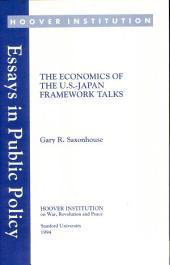 The economics of the U.S.-Japan framework talks