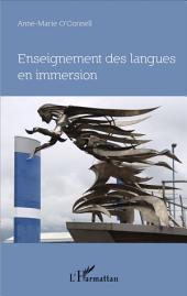 Enseignement des langues en immersion: Approche didactique, perspective philosophique, le cas de l'Irlande