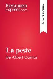 La peste de Albert Camus (Guía de lectura): Resumen y análisis completo