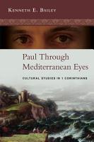 Paul Through Mediterranean Eyes PDF