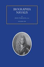 Biographia Navalis - Volume 1