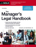 The Manager s Legal Handbook PDF