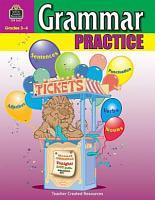 Grammar Practice  Grades 3 4 PDF