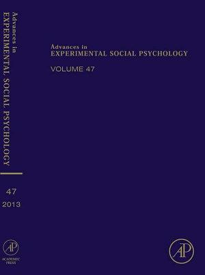 Advances in Experimental Social Psychology PDF