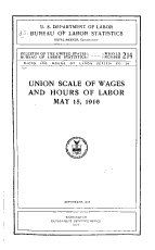 Wages and Hours of Labor Series PDF