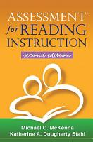 Assessment for Reading Instruction  Second Edition PDF