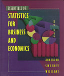 Essentials Of Statistics For Business And Economics Book PDF