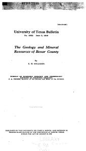 Bulletin: Bureau of Economic Geology publications, Issue 32