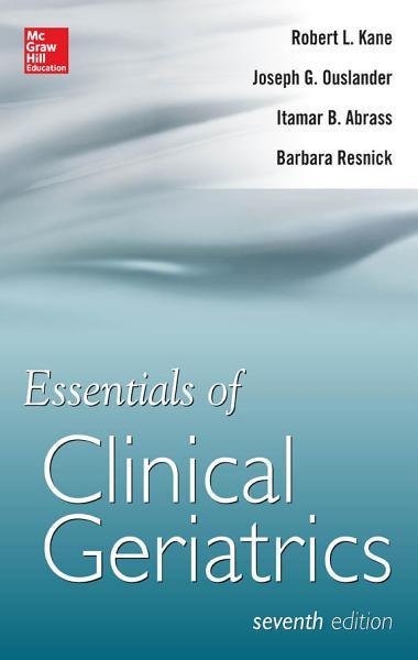 Essentials of Clinical Geriatrics 7 E PDF