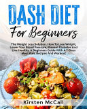 DASH Diet For Beginners Book
