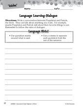 Poppleton in Winter Language Learning Activities