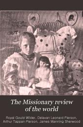 The Missionary Review of the World: Volume 29