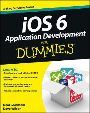 iOS 6 Application Development For Dummies PDF
