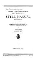Style Manual  abridged  PDF