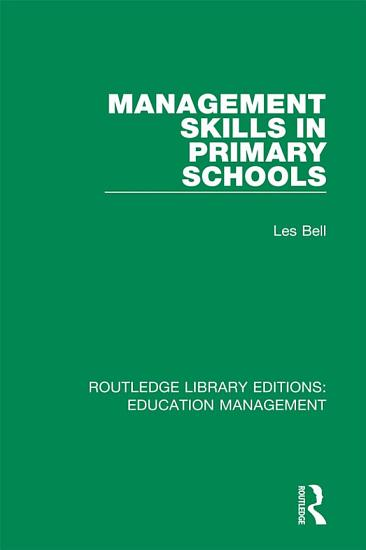 Management Skills in Primary Schools PDF