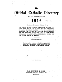 The Official Catholic Directory PDF