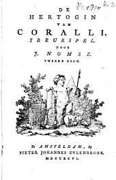 De hertogin van Coralli: treurspel
