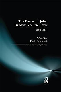 The Poems of John Dryden  Volume Two Book