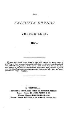 The Calcutta Review PDF