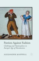 Patriots Against Fashion PDF