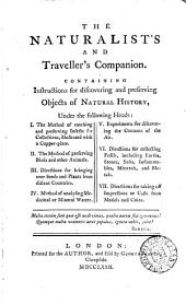 The naturalist's and traveller's companion [by J.C. Lettsom].