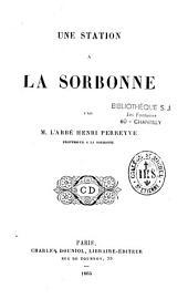Une station à la Sorbonne