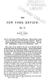 The New York Review: Volume 3