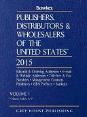 Publishers  Distributors   Wholesalers in the Us 015  2 Volume Set