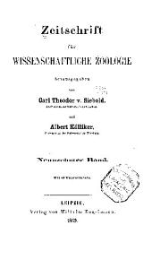 Zeitschrift für wissenschaftliche Zoologie: Band 19