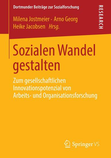 Sozialen Wandel gestalten PDF