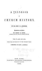 A Text-book of Church History: Volume 5