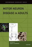 Motor Neuron Disease in Adults PDF