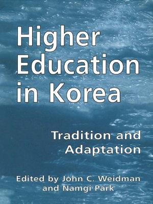 Higher Education in Korea PDF