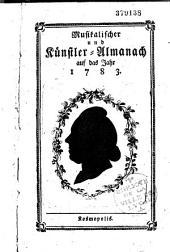 Musikalischer Almanach auf das Jahr 1782
