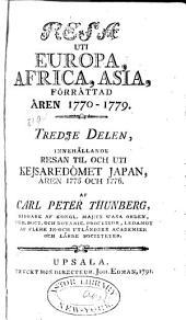 Resa uti Europa, Africa, Asia, förrättad åren 1770-1779 ...